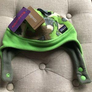 *NEW* Patagonia Reversible Fleece Kids Hat 6-12mos